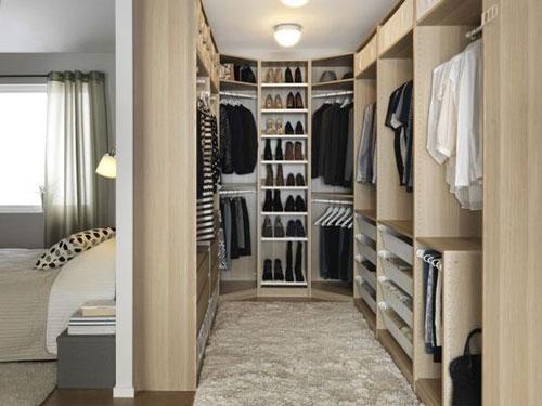 mẫu phòng thay đồ trong phòng ngủ đơn giản 9