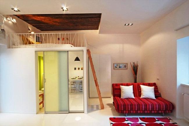 phòng ngủ có gác lửng đẹp 1