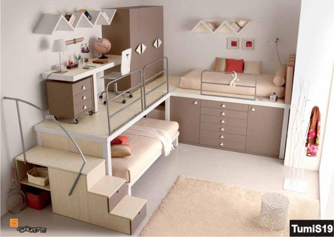 phòng ngủ có gác lửng đẹp 11