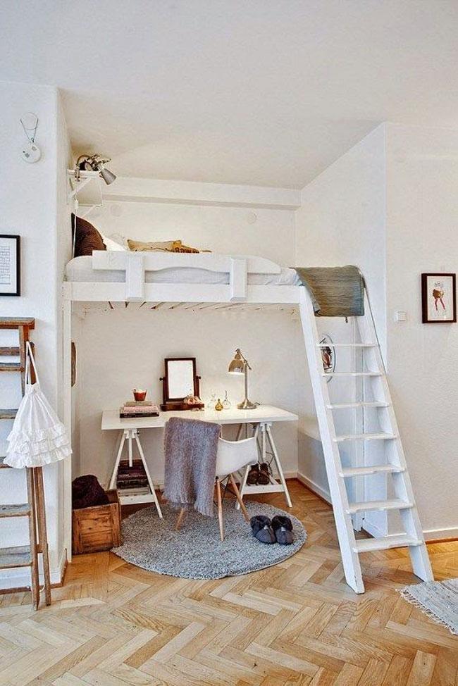phòng ngủ có gác lửng đẹp 13