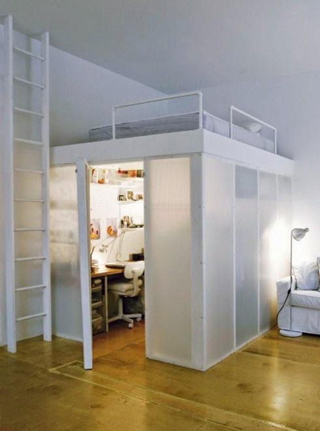phòng ngủ có gác lửng đẹp 14