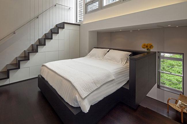 phòng ngủ có gác lửng đẹp 4