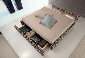 Các mẫu giường ngủ đẹp có ngăn kéo