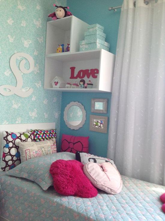 kệ trang trí phòng ngủ 7