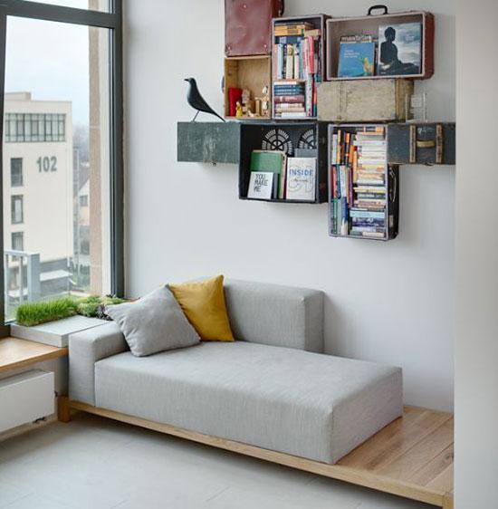 sofa mini trong phòng ngủ 12