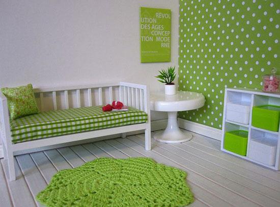 sofa mini trong phòng ngủ 17