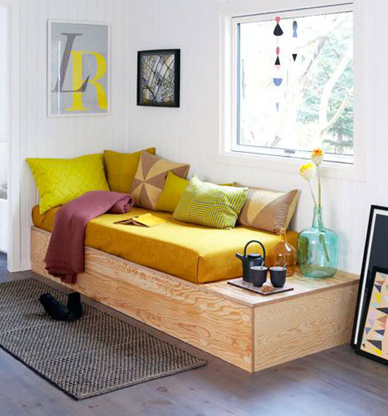 sofa mini trong phòng ngủ 19
