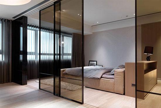 phòng ngủ có vách ngăn 1