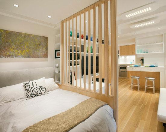 phòng ngủ có vách ngăn 11