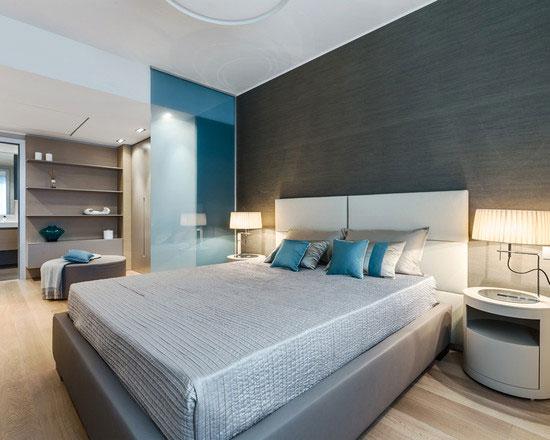 phòng ngủ có vách ngăn 8