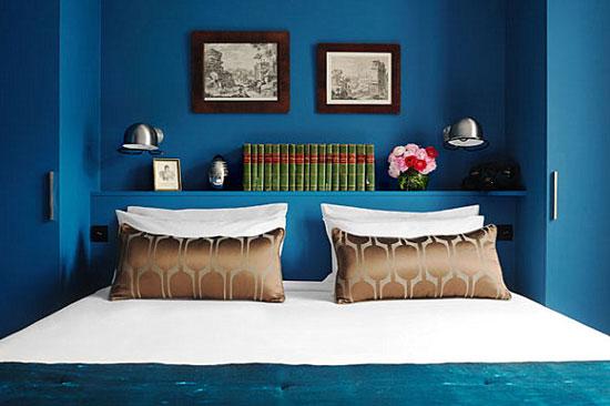 phòng ngủ màu xanh nước biển 28