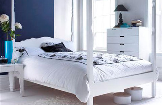 phòng ngủ màu xanh nước biển 4
