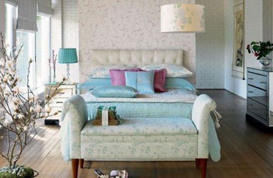 phòng ngủ màu xanh nước biển 5