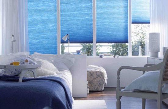 phòng ngủ màu xanh nước biển 6