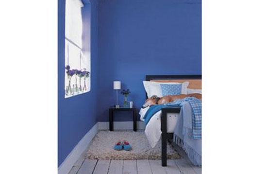 phòng ngủ màu xanh nước biển 7