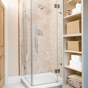 Một số mẫu phòng tắm đứng phổ biến