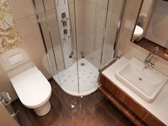 Thiết kế phòng tắm đơn giản mà đẹp