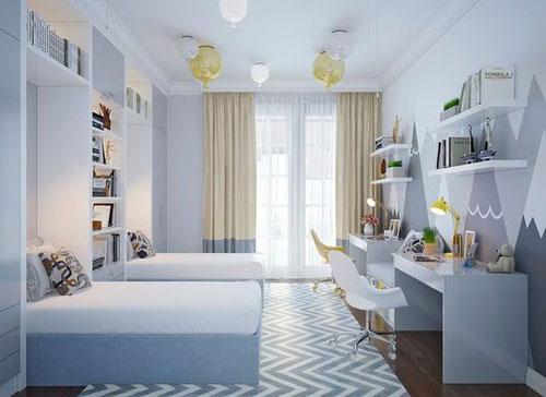 phòng ngủ cho bé trai và gái 5