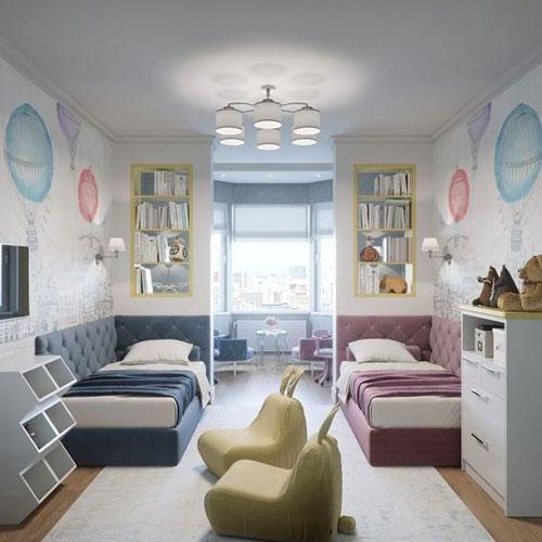 phòng ngủ cho bé trai và gái 8