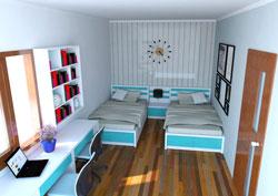 Gợi ý cách trang trí phòng ngủ cho trẻ em