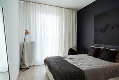 Thiết kế nội thất chung cư 55m2 với màu trắng