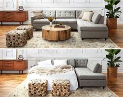 8 Mẫu giường phòng khách nhà chung cư