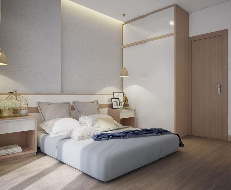 phòng ngủ master chung cư đẹp 3