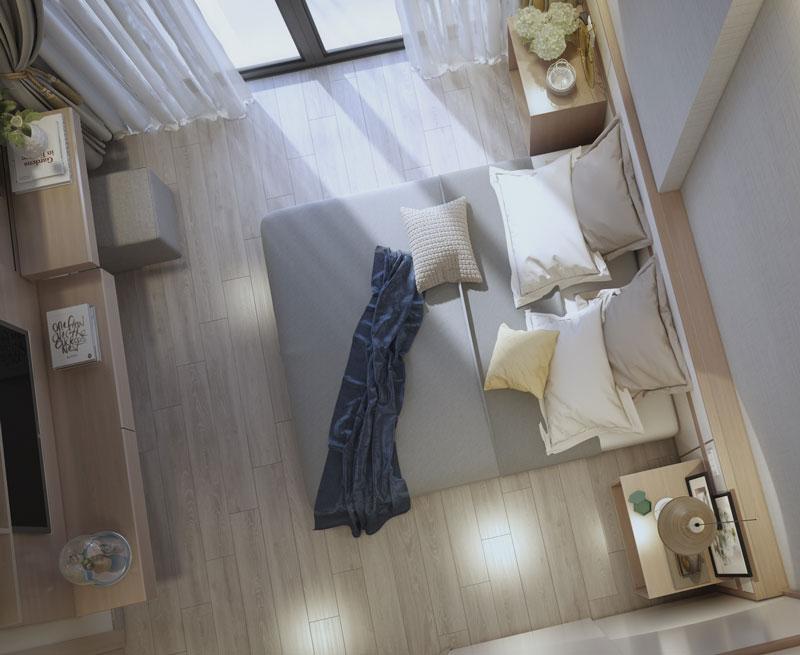 phòng ngủ master view 3
