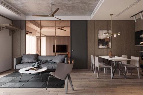 thiết kế bàn trà phòng khách